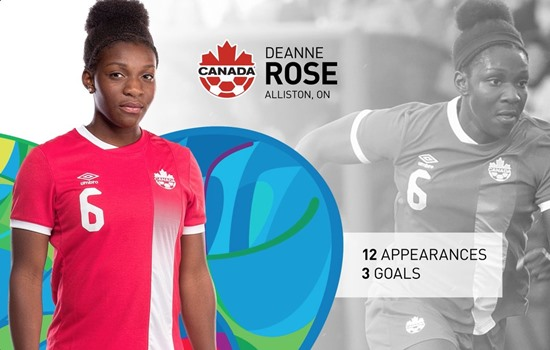 OWSL player Deanne Rose heads to Rio to represent Canada at the Olympics!